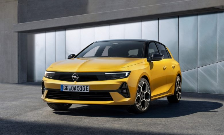 The new Opel Astra will also be electric in 2023