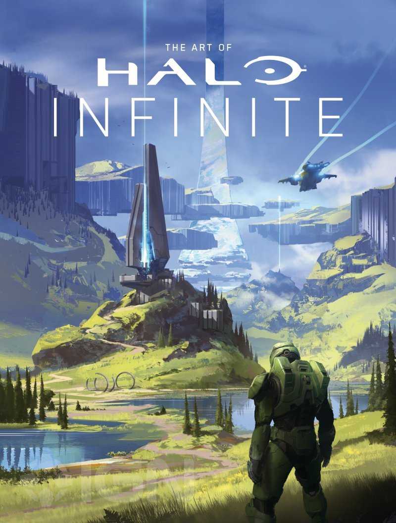 The Art of Halo: The Art of Halo Standard Edition Hardcover Book on Halo Infinite