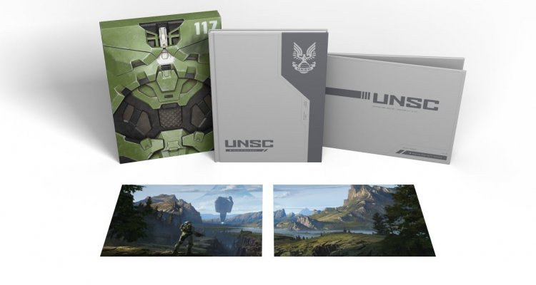 Halo Infinite, Art Book Deluxe and Standard Edition Unveiled - Nerd4.life
