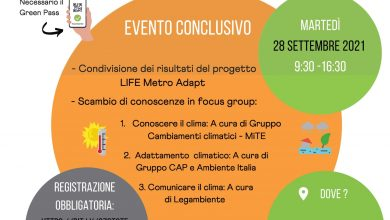 Photo of Climate change and urban adaptation: a conference in Milan on Tuesday 28 for the Life MetroAdapt project as part of Pre Cop.