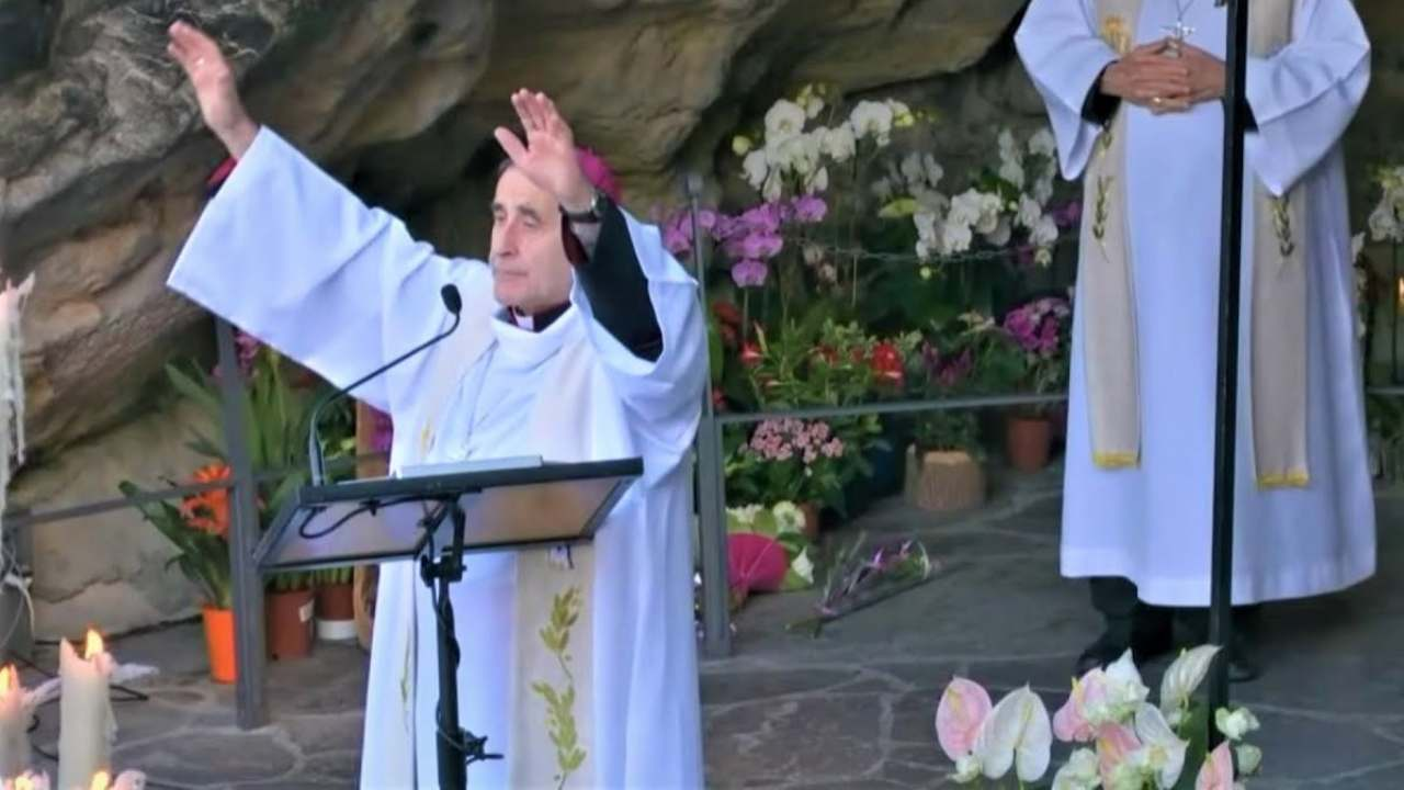 Photo of A blessing that we have not heard before in the place where the Virgin Mary appeared