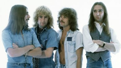Photo of Alan Lancaster, founder of the rock band Status Quo ., has died