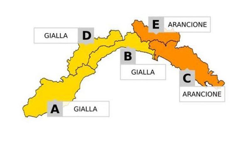 Bad weather, thunderstorm alert is triggered all over Liguria