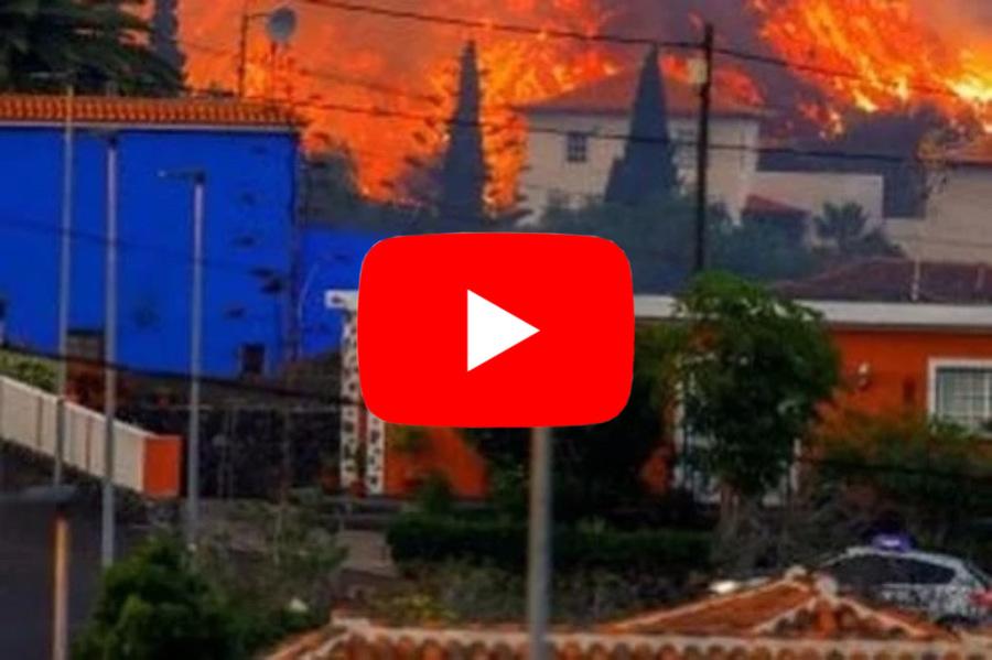 Photo of Canary, lava in VULCANO VIEJA SWALLOWS HOUSES.  Great video »ILMETEO.it