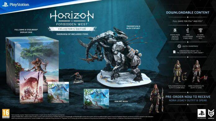 Horizon Forbidden West Guerrilla Games Edition - PlayStation 4 - PlayStation 5