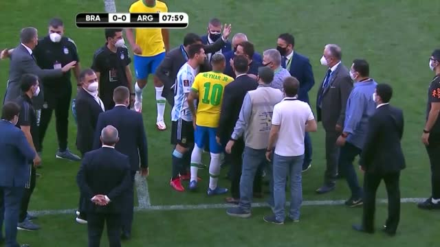 Brazil and Argentina comment: chaos after five minutes