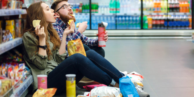 Junk foods, 70% of UK sales are due to unhealthy products