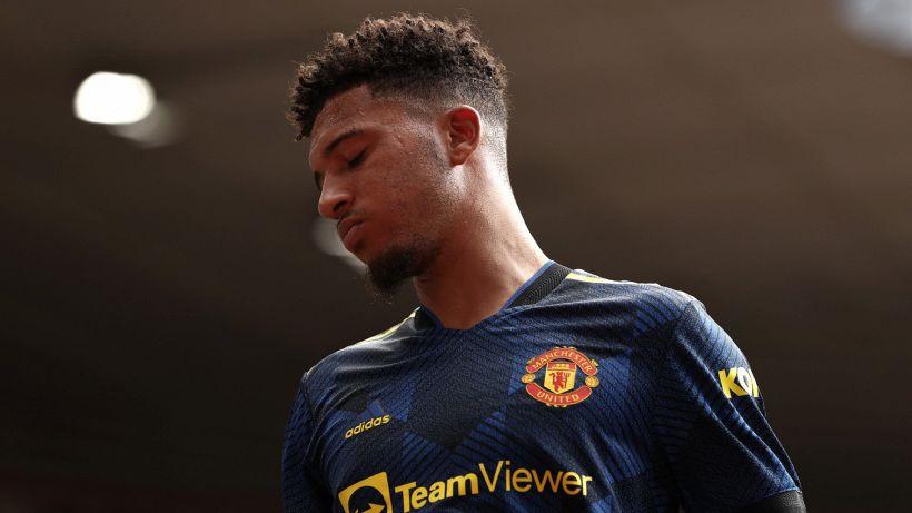 Sancho-Manchester United, false start: only 2 shots in 6 games