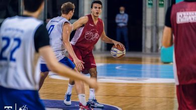 Photo of Ravenna Baskett, winning the friendly match against Fabriano