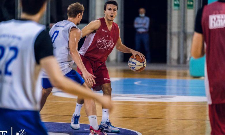 Ravenna Baskett, winning the friendly match against Fabriano