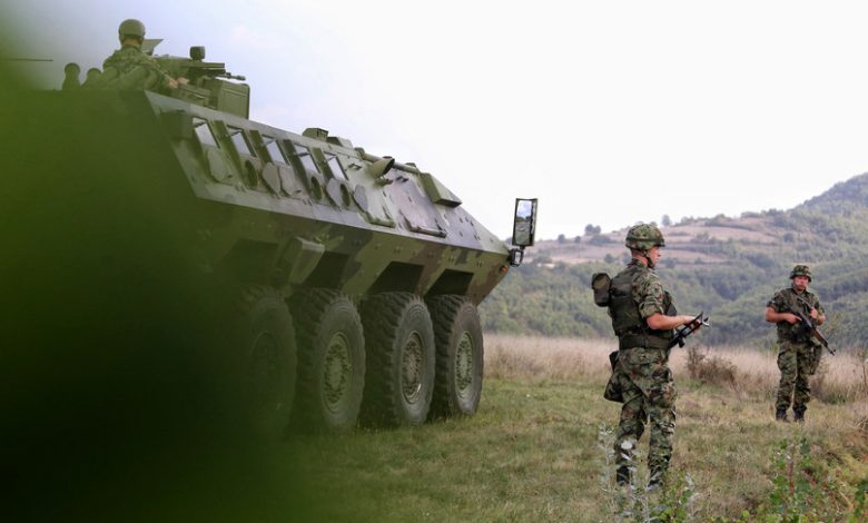Tensions with Serbia, NATO intensifies patrols