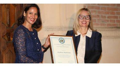 Photo of The United States awards Nicoletta Mantovani – Chronicle