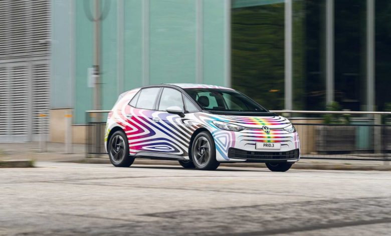 Volkswagen presents PRID.3 with the aim of celebrating inclusivity and diversity