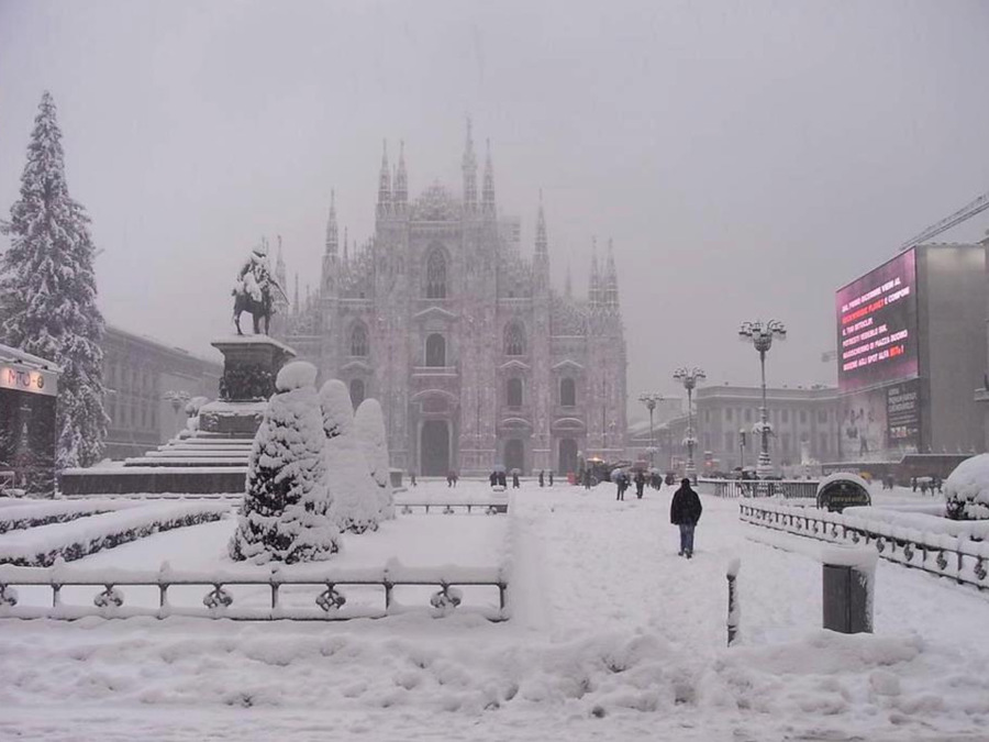 Photo of Winter 2021/22, with NINA may be the year of snow on the plains!  Update for this phenomenon »ILMETEO.it
