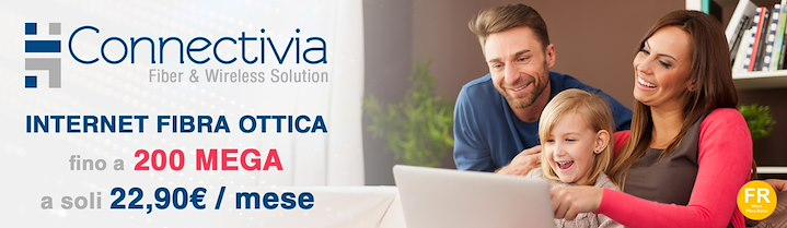 Connectivia is your fiber partner with connections starting from €22.90 per month