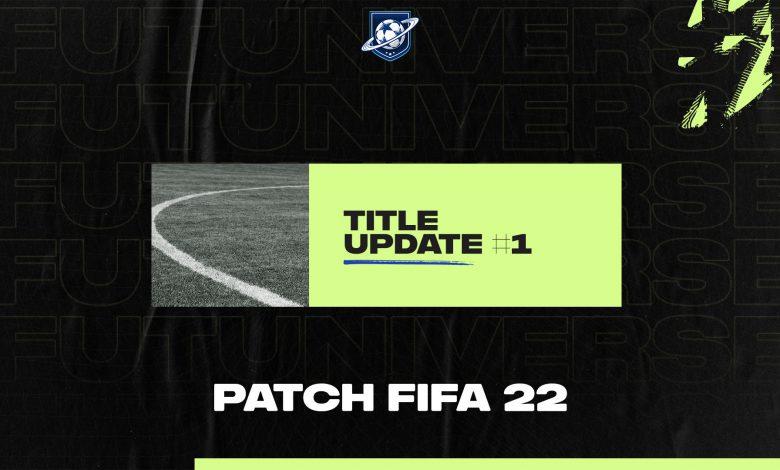 Patch FIFA 22 Title Update 1