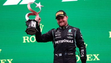 Photo of Bottas won in Turkey, Verstappen regained the lead and 'Checo' on the podium