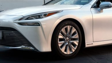 Photo of Toyota Mirai, hydrogen car for Guinness World Records
