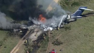 Photo of Texas, charter plane crash in a field: Save all passengers