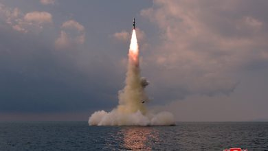Photo of North Korean missile, emergency meeting of the UN Security Council