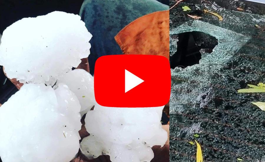 Photo of Australia, terrible hail destroys everything in Queensland, 15 cm pills.  Video »ILMETEO.it