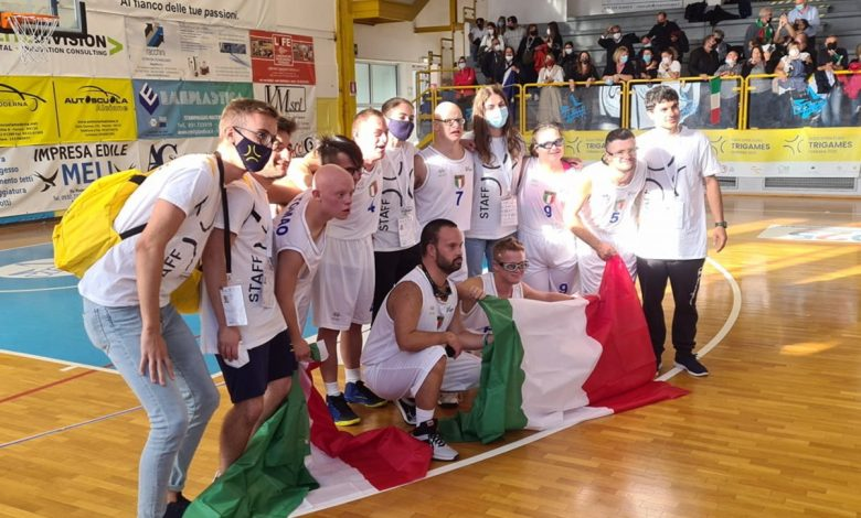 Basketball, the Italian national team with Down syndrome is the European champion