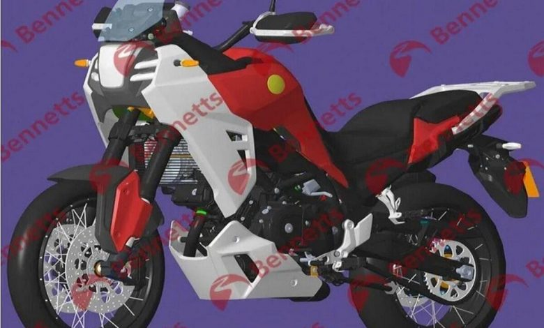 Benelli's new adventure 650 with a V2 engine?  - News