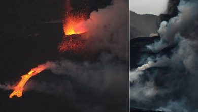Photo of Canary volcano collapses main part of cone: fear of new earthquakes