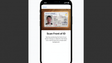 Photo of ID cards and driver's licenses land on iPhones in the US