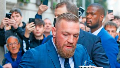 Photo of Italian DJ explains 'cool' conversation with Conor McGregor before the alleged assault