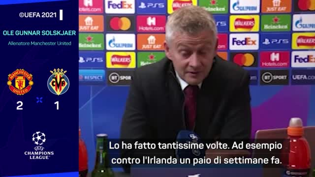"""Solskjaer and Ronaldo goal in the last minute: """"He is always in the game"""""""