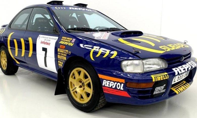 Raleigh, Subaru Colin McRae and Carlos Sainz found in a barn in Australia