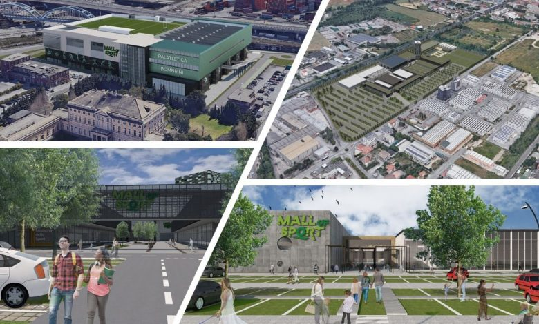 """""""Sports Mall"""" is the new frontage of sports facilities"""