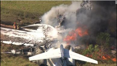 Photo of Texas, plane crash: All passengers are fine