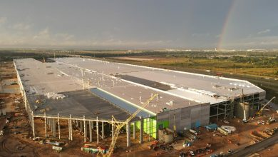 Photo of The new factory is huge
