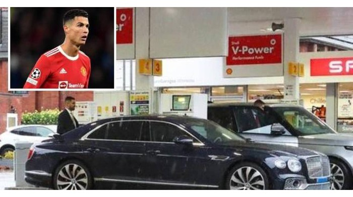 UK running out of fuel until the CR7 Bentley ran out